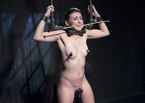 Teenage Mandy Muse abjected and tormented with a tons of fresh Sadism & Masochism implements