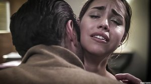 Remarkable schoolgirl Alina Lopez gets disciplined and cruelly torn up in pinkish crevices