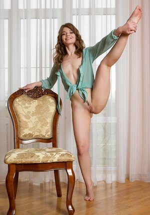 Nude assed Nedda indulges her Nude wishes with bare spreads while alone