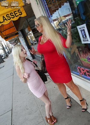 Small stunner Piper Perri and her mom love a gigantic furious dick together
