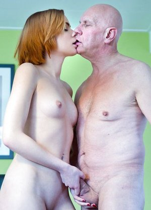 Young redhead pays for her college education by ravaging her sugar daddy